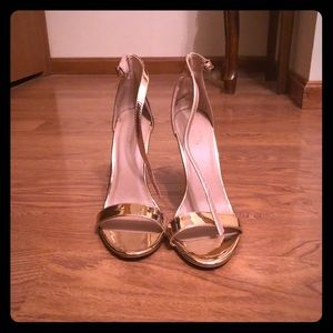 Rose Gold Pumps Women's Size 8